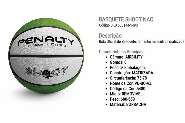 Bola Basquete Penalty Shoot Nac Vi - R  99 2ac8e193e252e