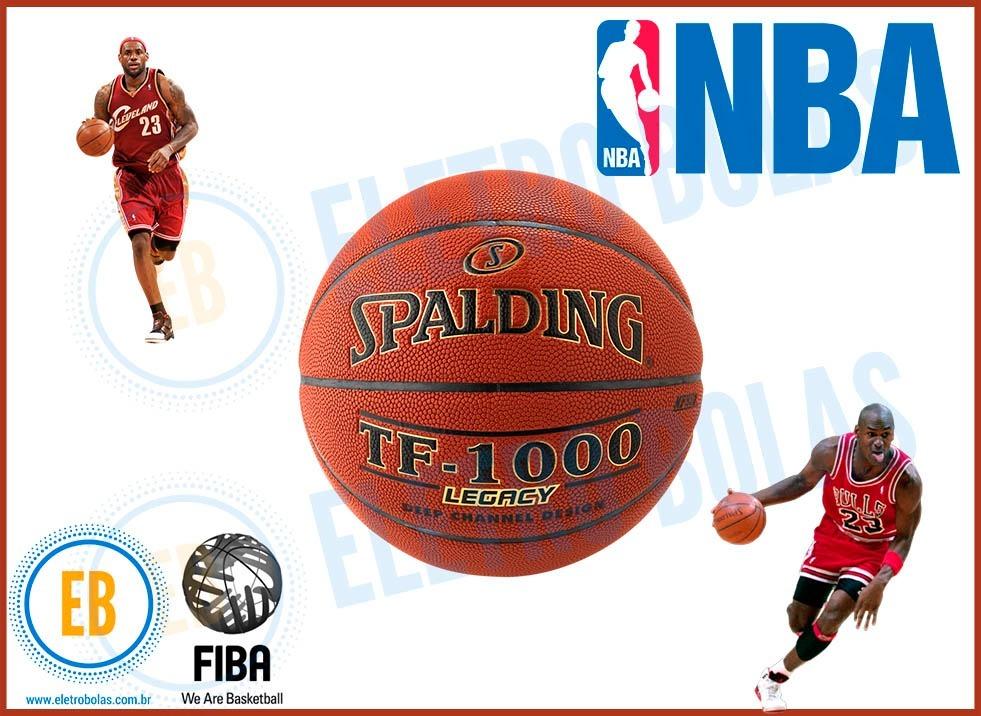 cb8fead673d20 bola basquete tf-1000 spalding legacy pró oficial nba fiba. Carregando zoom.