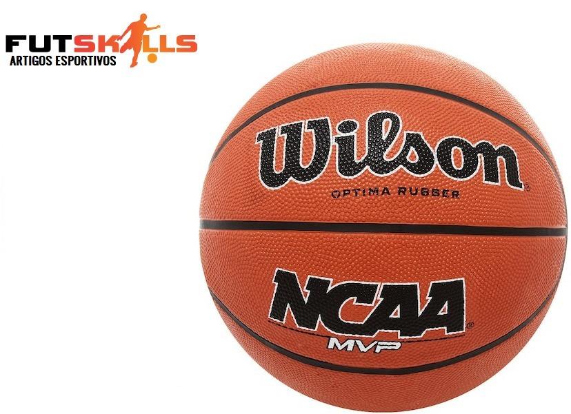 1bdb38cef6 bola basquete wilson ncaa mvp 7 - basquete - marrom claro. Carregando zoom.