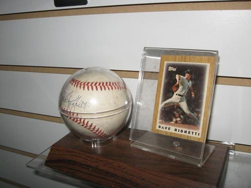 bola beisboll autografiada jugadores de grandes ligas asch