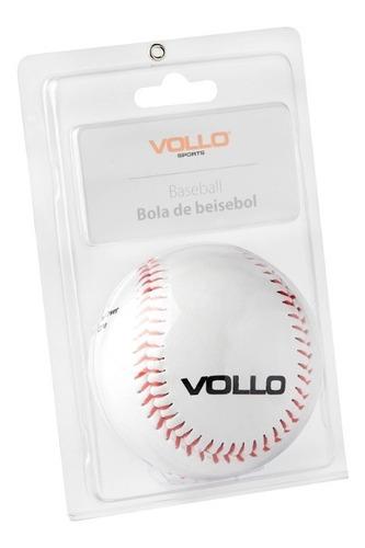 bola beisebol vollo com miolo de cortiça e borracha tam. 9