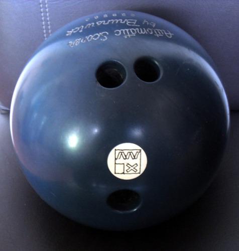 bola boliche brunswick  azul ágata