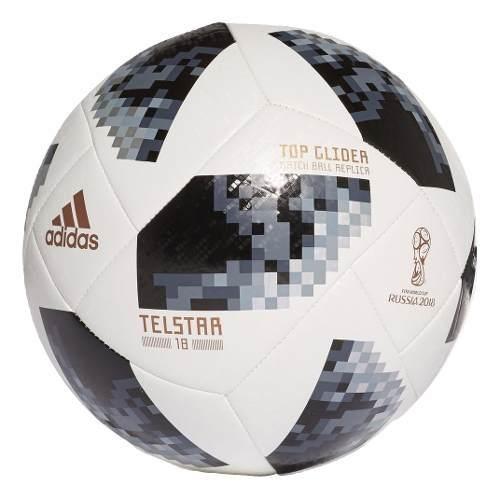 fcab3c6bed382 Bola Campo adidas Copa Do Mundo Russia 2018 Ce8096 - R  113