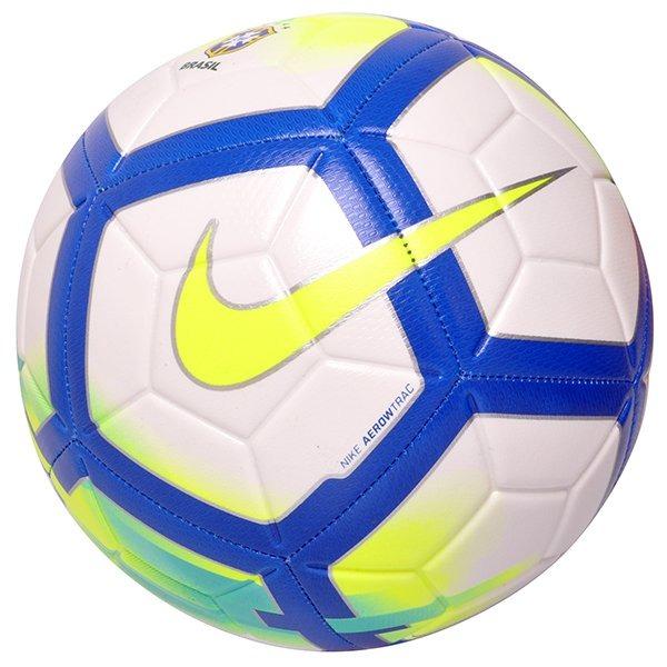 Bola Campo Brasileirão Nike Cbf Strike Sc3209-178 Branco - R  119 005a1f6e0319d