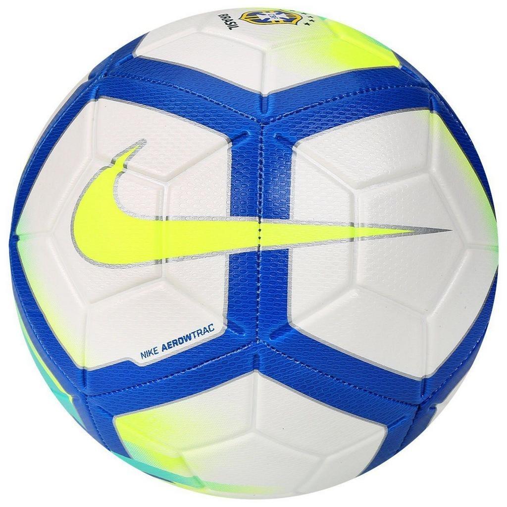 3bc7fdded0 bola campo nike strike cbf branco azul amarelo. Carregando zoom.