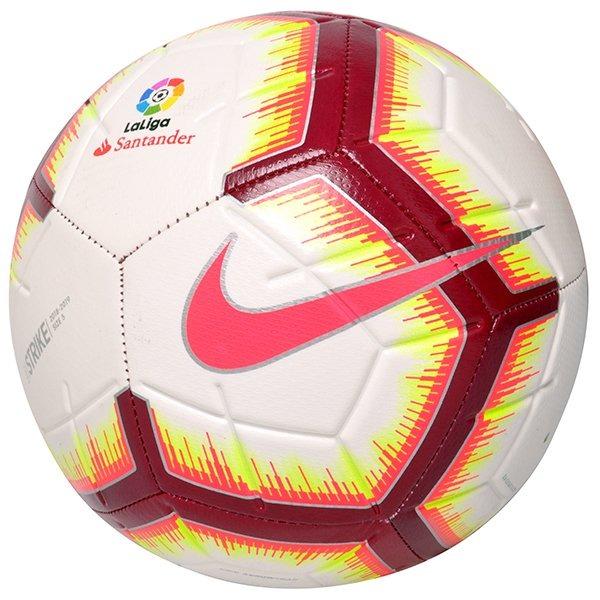 Bola Campo Nike Strike La Liga Sc3313-100 Branco - R  119 0e4d7420df2ec