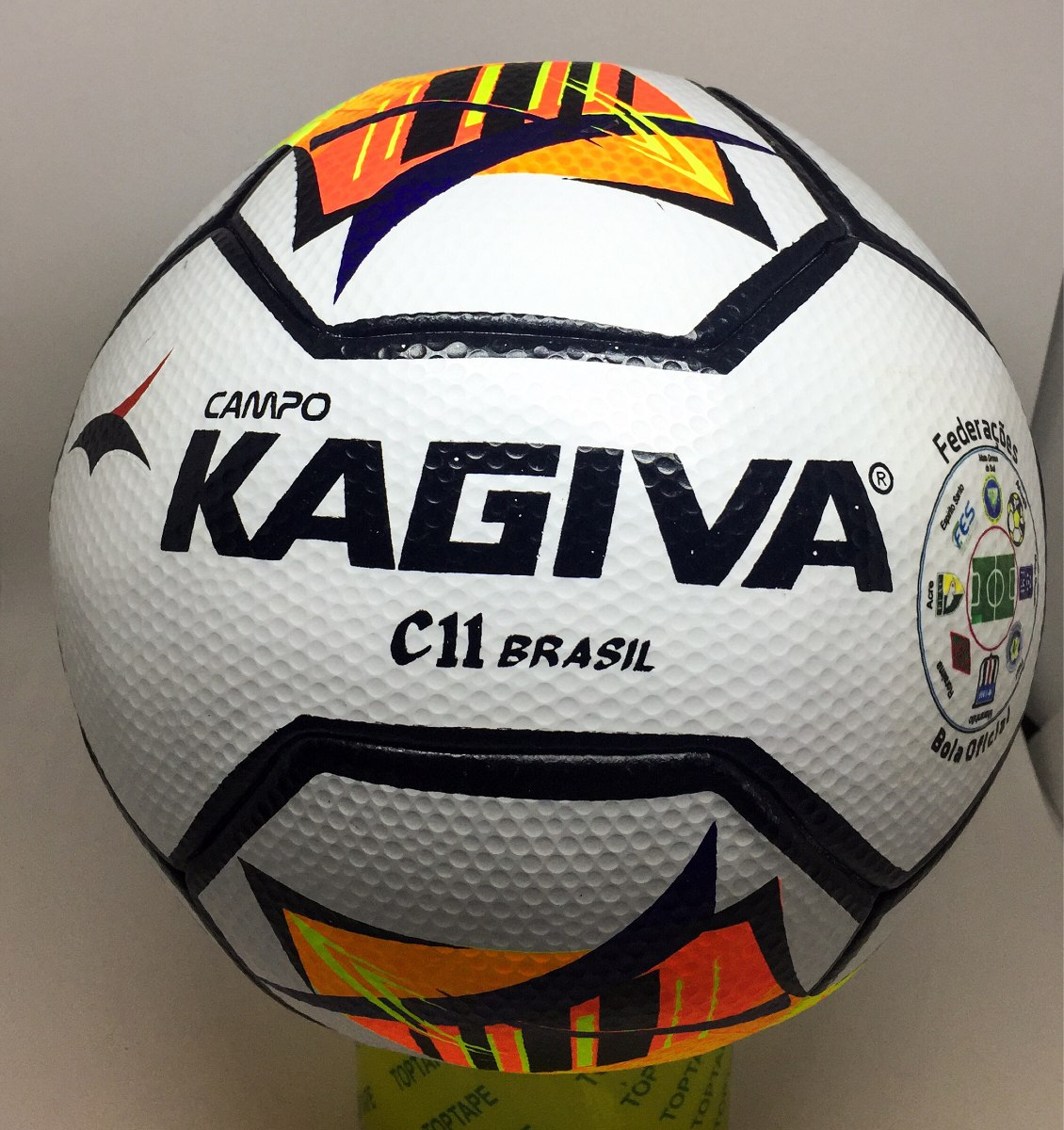c50d085f8d Bola Campo Oficial Kagiva Pu C11 - R  130
