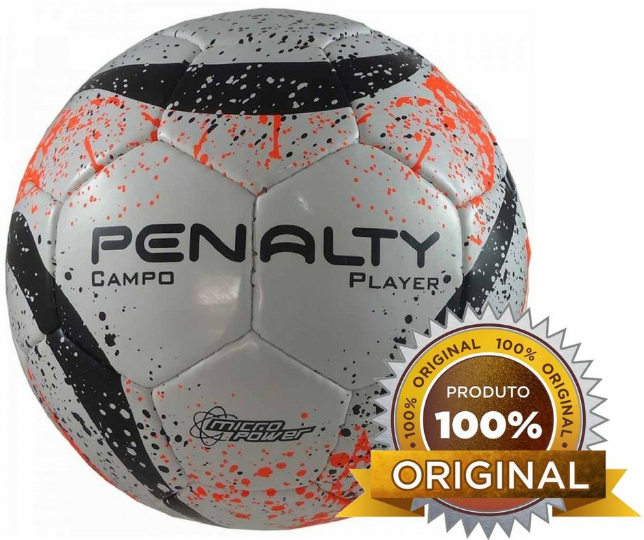 Bola Campo Penalty Player Futebol Original Oficial C Costura - R  120 b1cd901b9345e