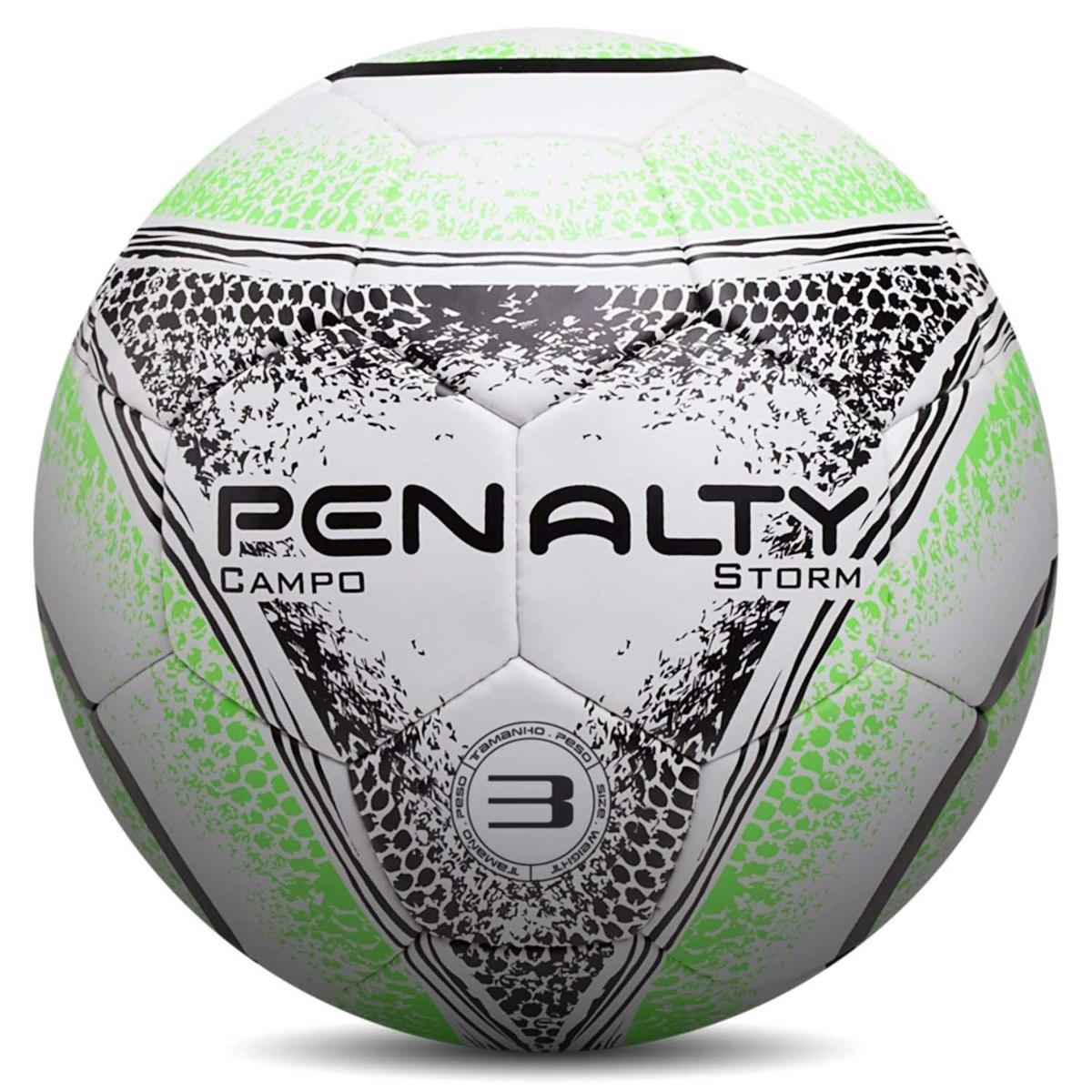 bola campo penalty storm n3 costurada. Carregando zoom. b8c5397acf881