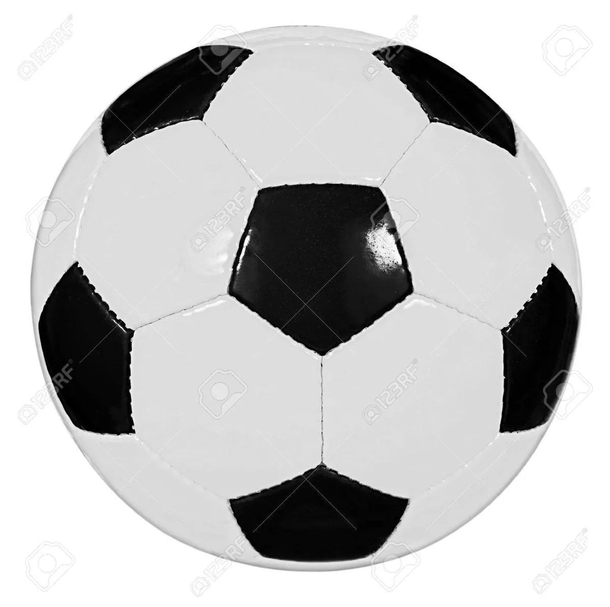 Bola Campo Tradicional - Cor Preto branco Copa Futebol 2018 - R  48 ... 52caf8a608311
