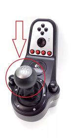 Bola Câmbio H Shifter Logitech G27 G29 G920 Joystick