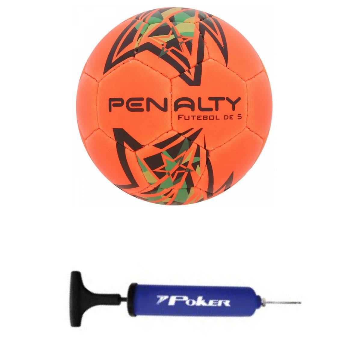2457457b93 bola com guizo futsal penalty + bomba poker. Carregando zoom.