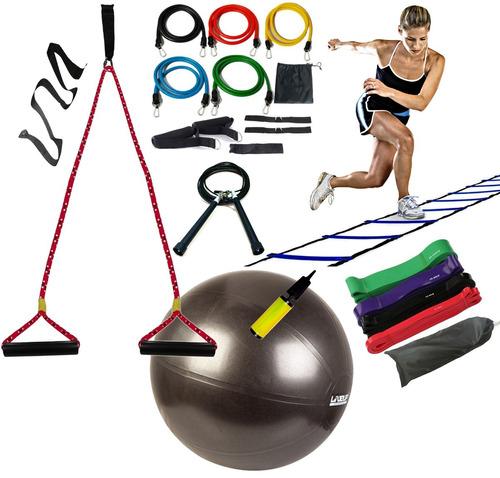 bola corda suspensa t. trx escada agility extensor superband