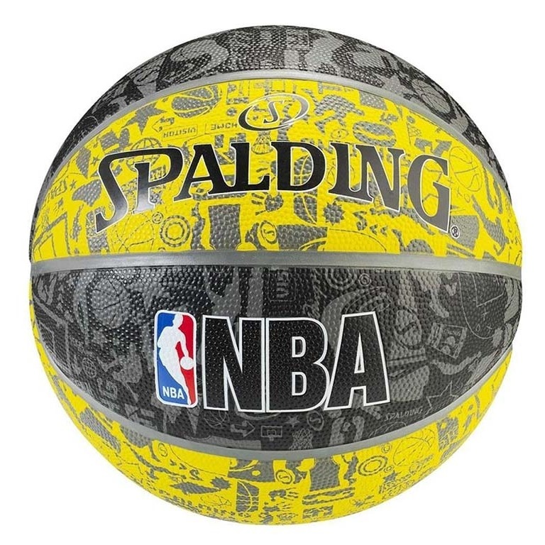 56e332dc5e69c Bola De Basquete Nba Graffiti N7 Spalding - R  100