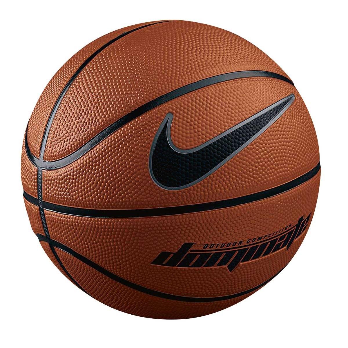 6bb6b61379a15 bola de basquete nike dominate marrom - tam 7 original. Carregando zoom.