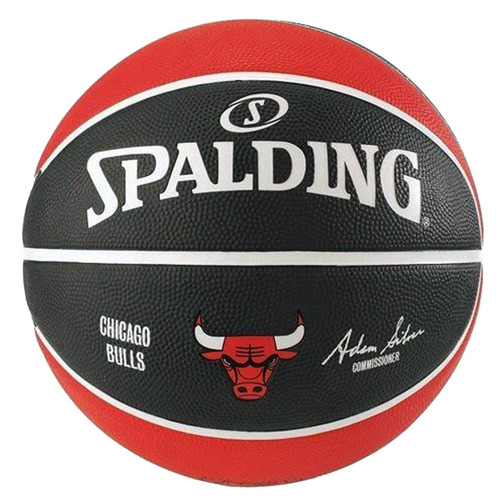 Bola De Basquete Spalding Chicago Bulls Tamanho 7 - R  134 d66f903e27328