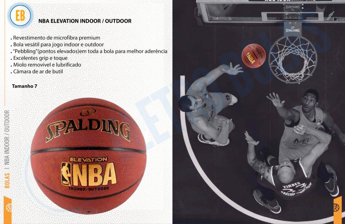 c5a458a2f bola de basquete spalding nba elevation oficial - original. Carregando zoom.