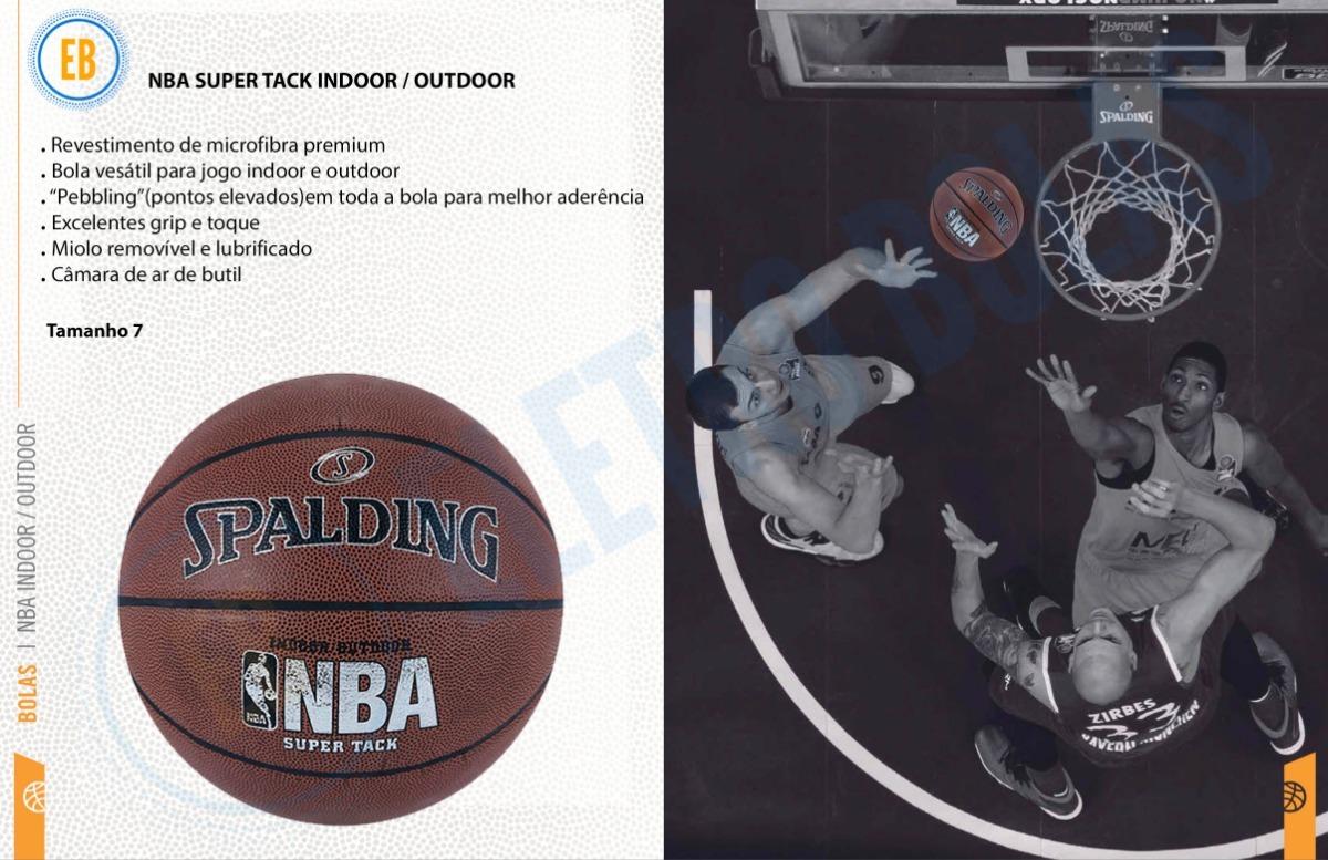 225d40ee4 bola de basquete spalding nba super tack oficial - original. Carregando  zoom.