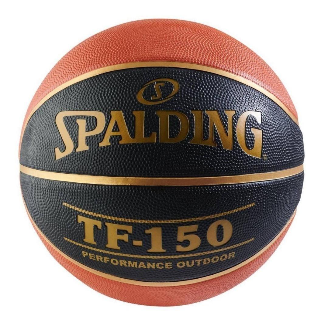 Bola De Basquete Spalding Tf-150 Oficial Original Fiba Nba