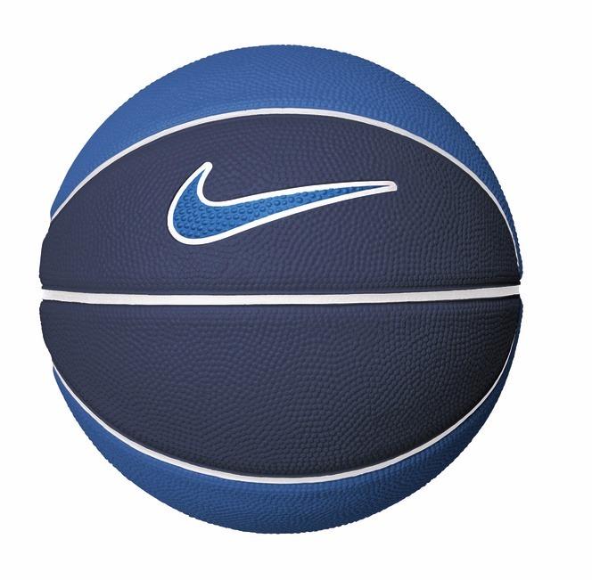 Bola De Basquete Swoosh Mini Tam 3 Azul Nike - R  82 a9ec7d8f10a39