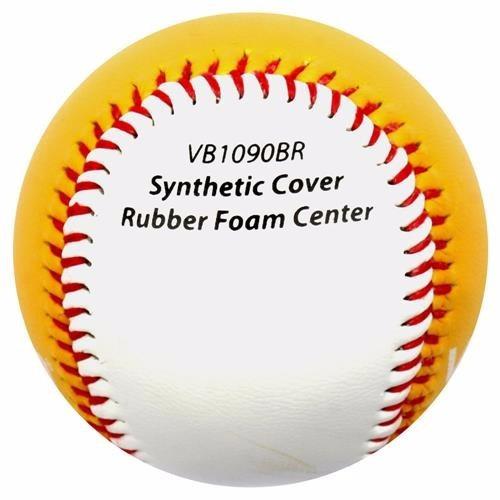Bola De Beisebol Branca E Amarela Vollo Baseball Oficial - R  29 c43c42fbbbd