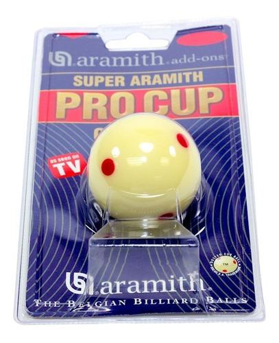 bola de billar de puntos super aramith pro cup