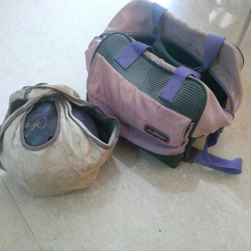 bola de bowling columbia 300 con maletin y funda