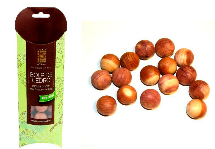bola de cedro natural anti mofo traças fungos - 15 unidades. Carregando  zoom. 0571f095605b1