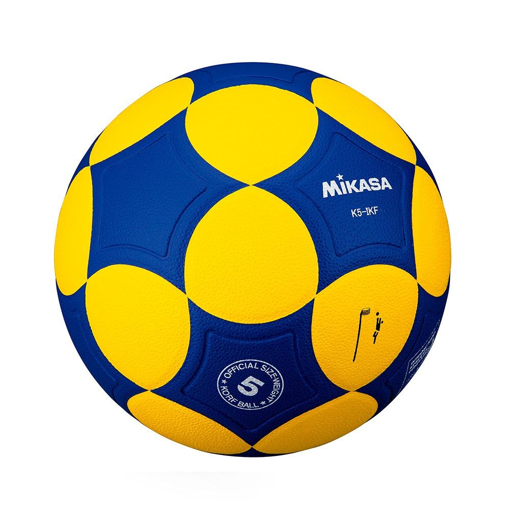 5bc593f04c3d9 bola de corfebol k5-ikf amarelo azul mikasa. Carregando zoom.
