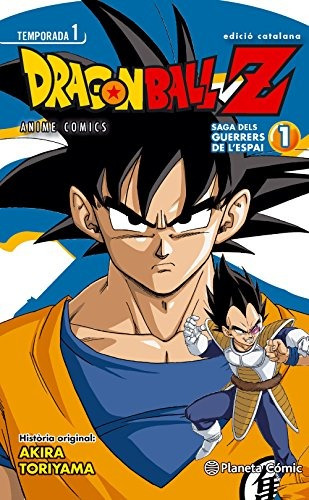 bola de drac z. anime series saiyan - número 1 (manga); aki