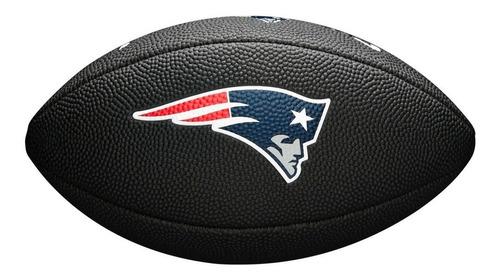 bola de fut. americano - nfl®team logo jr black - new englan
