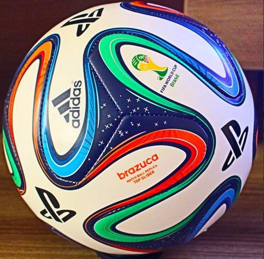 0934a2aa013c6 Bola de futebol adidas brazuca da copa tamanho oficial jpg 543x533 Oficial  bola de futebol