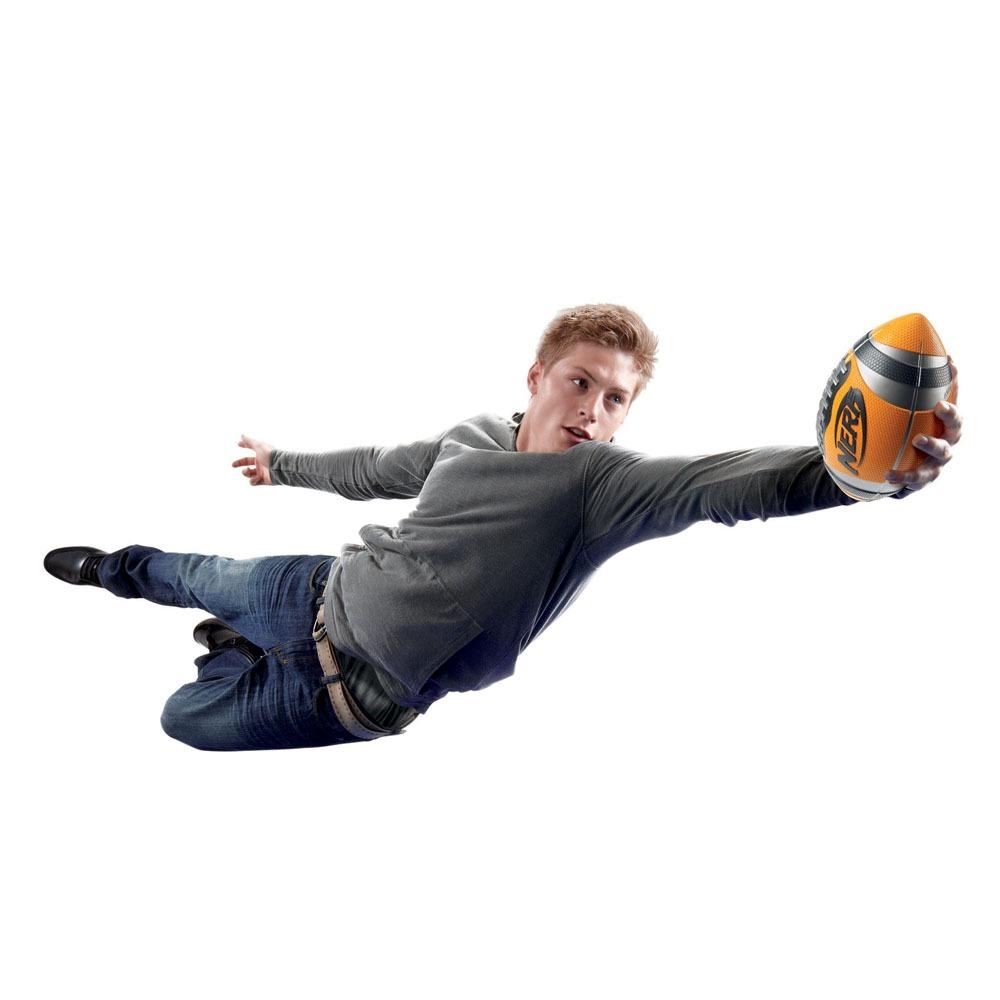 bola de futebol americano hasbro nerf sports - laranja. Carregando zoom. d5cd802f86d4f