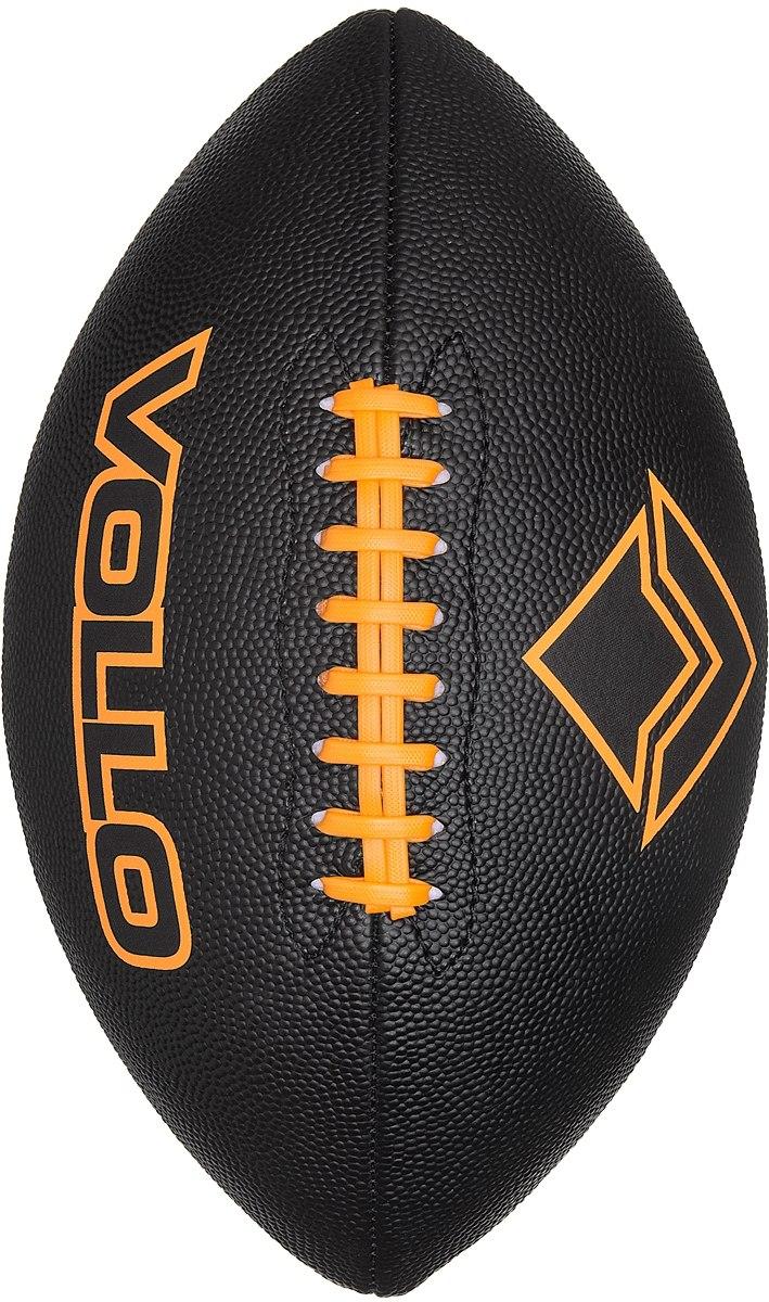 bola de futebol americano preta - vollo  tamanho 9 oficial . Carregando zoom . 2a00f22c9e656