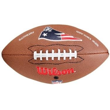 bola de futebol americano pro wilson(n.e. patriots)