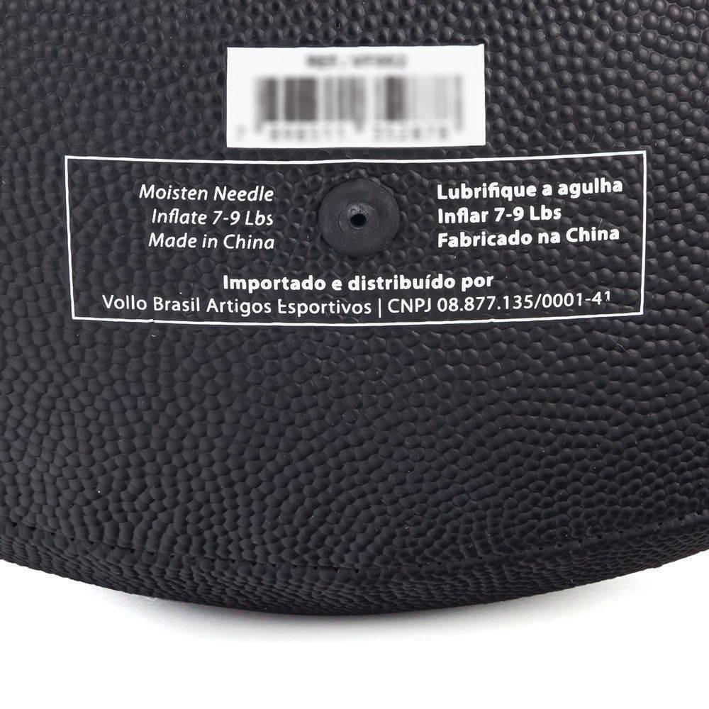 2c11ddd1d4 bola de futebol americano vollo preta - tamanho 9. Carregando zoom.