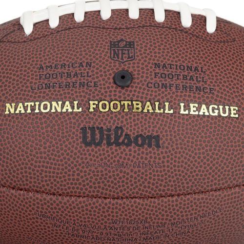 bola de futebol americano wilson nfl duke pro - réplica tama