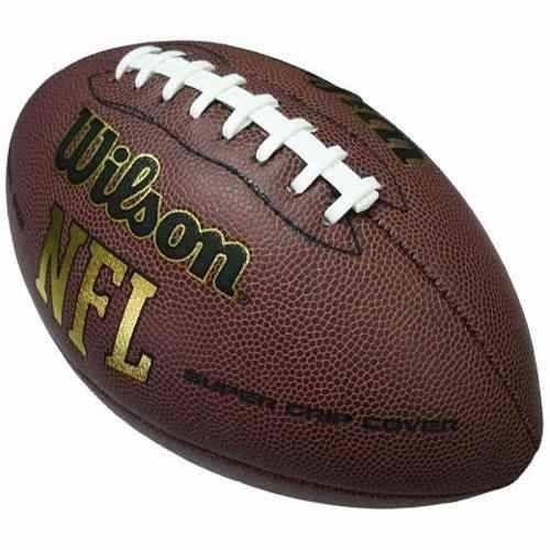 bola de futebol americano wilson nfl super grip original