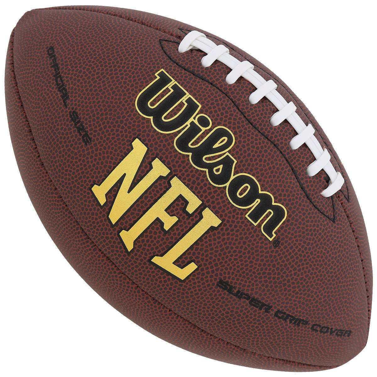 38f5529a1 bola de futebol americano wilson nfl super grip original. Carregando zoom.