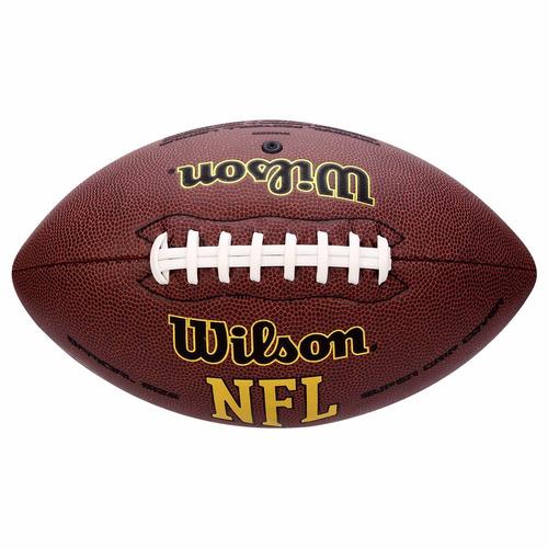 bola de futebol americano wilson nfl super grip-wtf1895xb