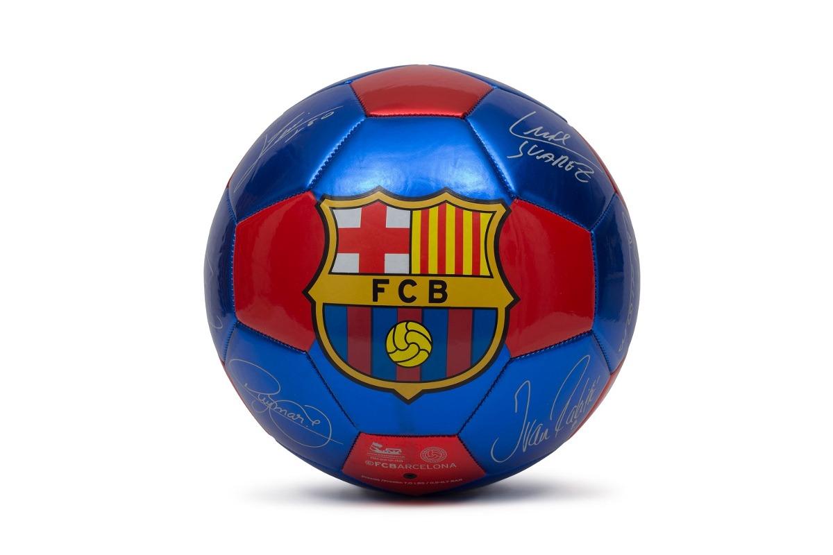 a97572b7b Bola De Futebol Barcelona - Assinaturas De Jogadores - Azul  - R  69 ...