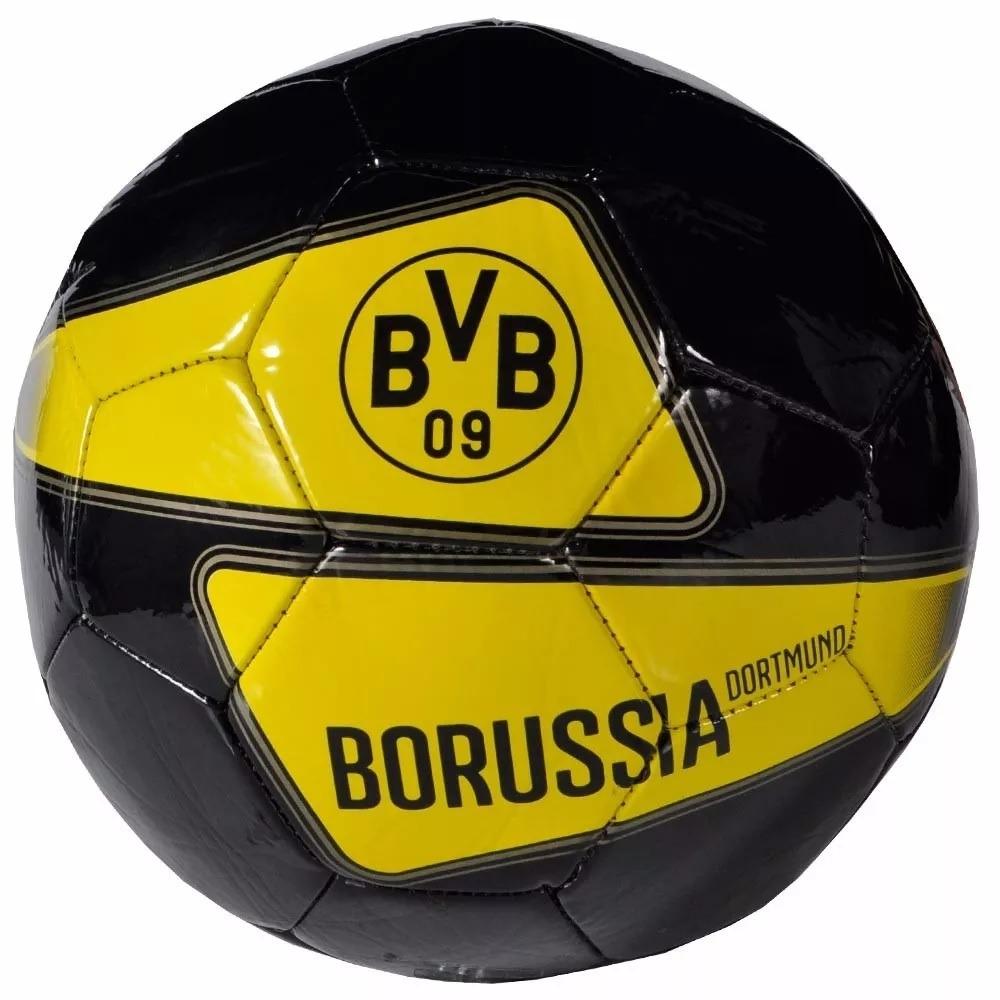 bola de futebol campo borussia dortmund preta size 5. Carregando zoom. fe04941a0634d