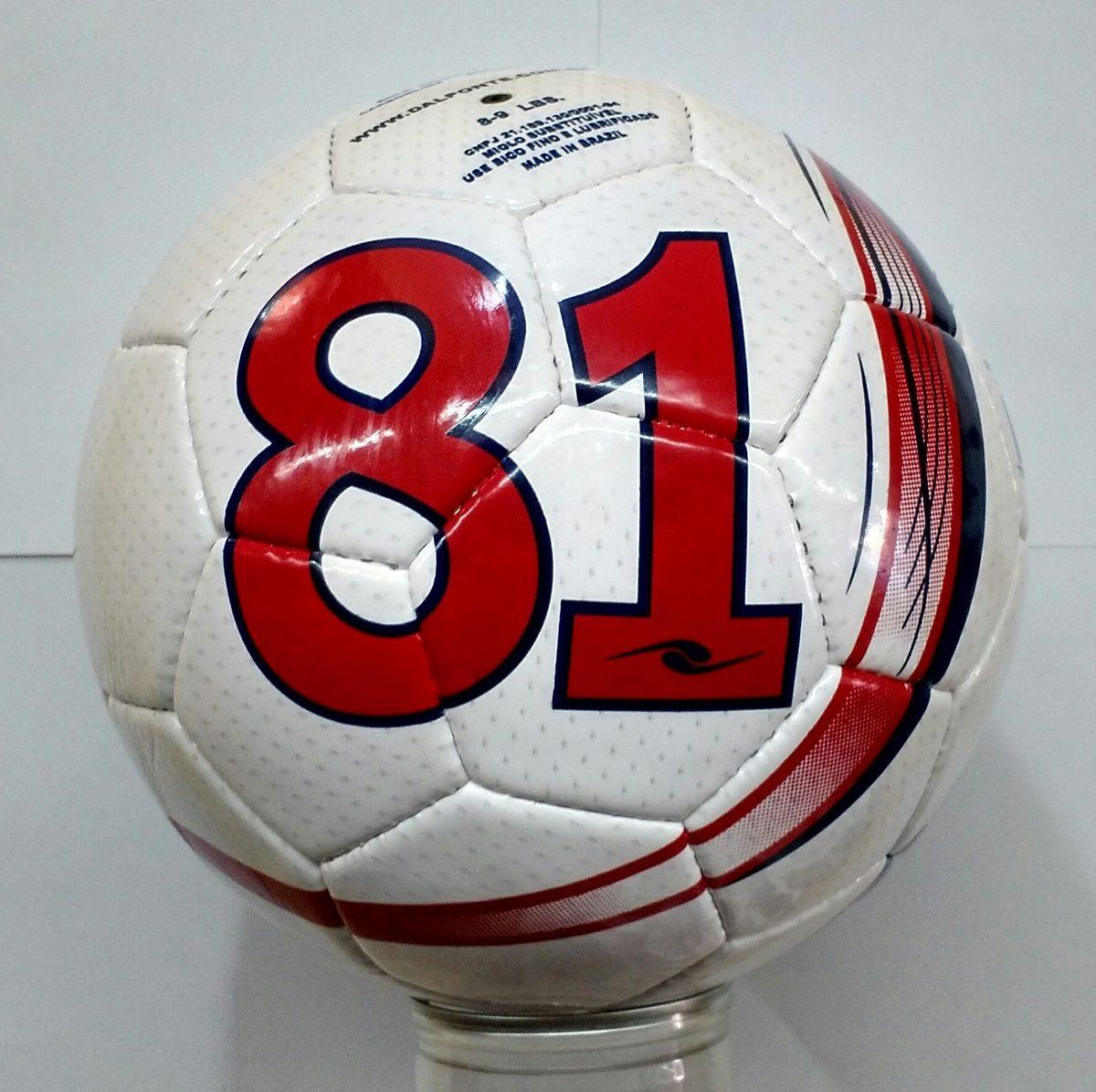 Bola De Futebol Campo Dalponte 81 - Original + Nota Fiscal - R  79 ... 8d7745d1ab073