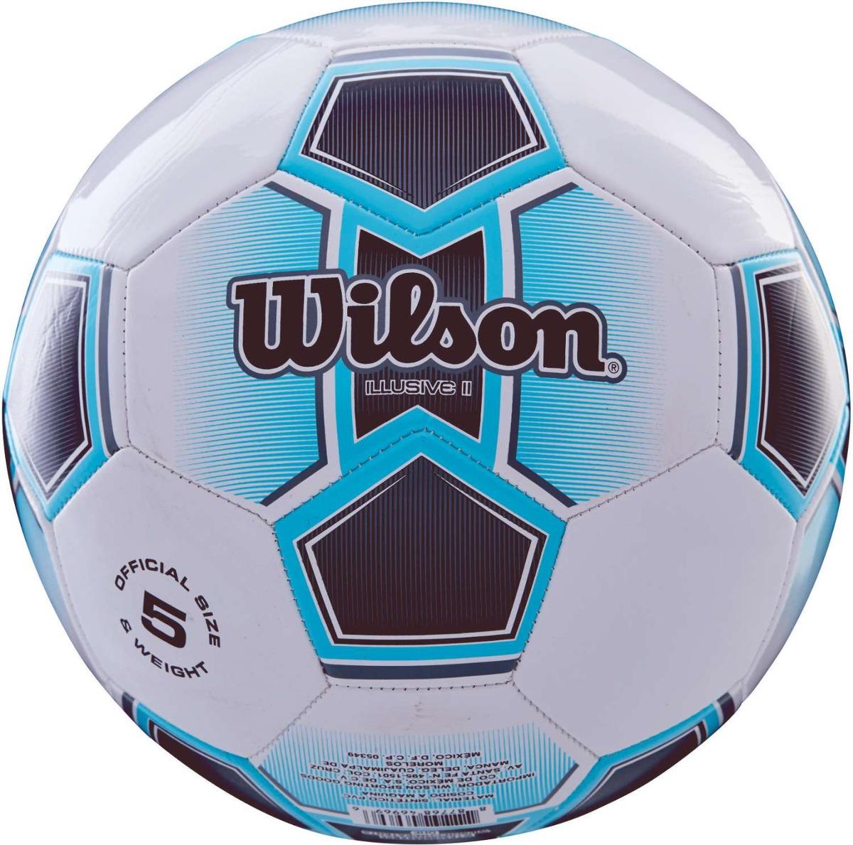 4d0320442f Bola De Futebol De Campo Illusive Ii N.5 Azul - R  90