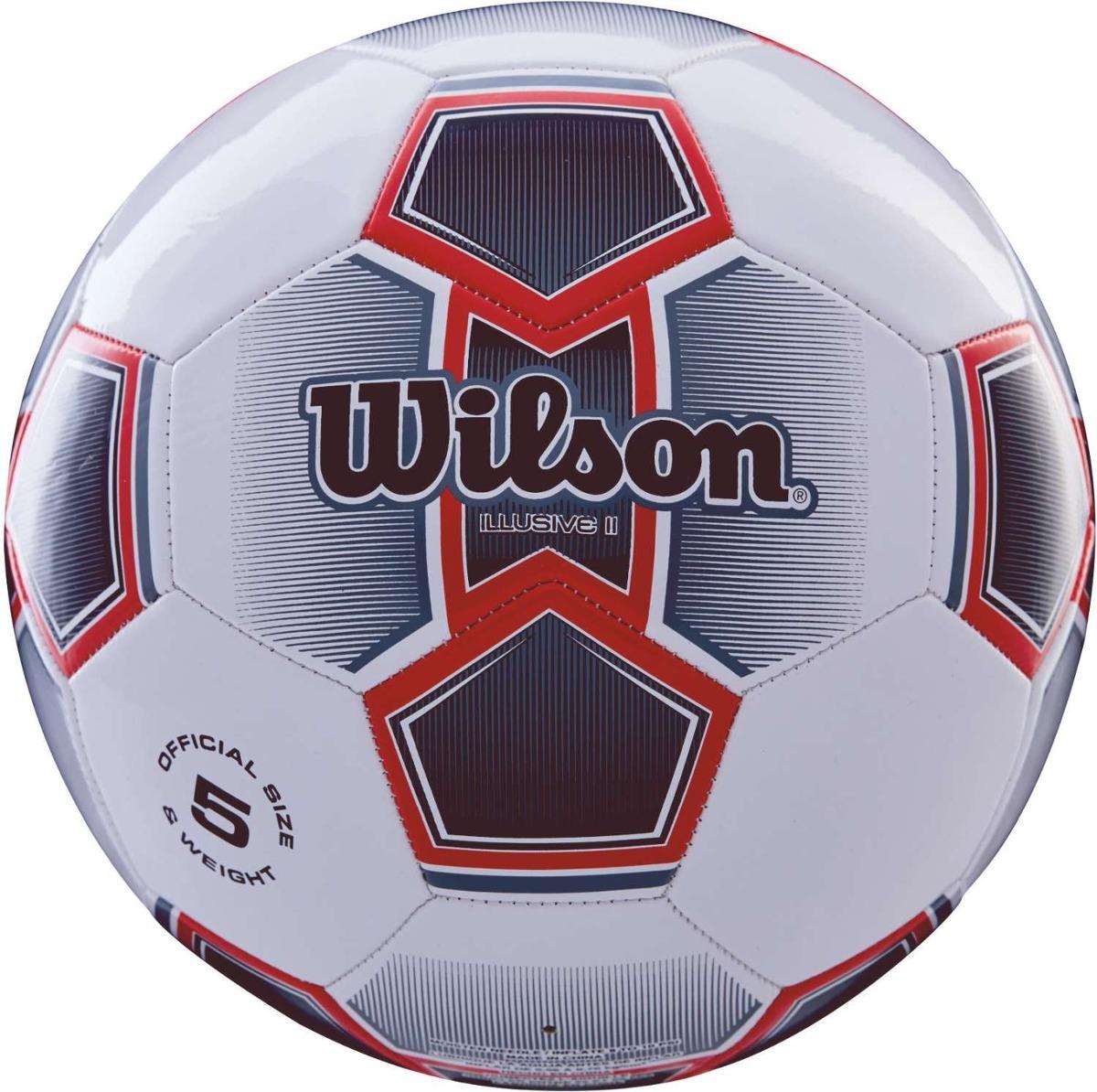 05846f90a0ba6 Bola De Futebol De Campo Illusive Ii N.5 Vermelha - R  90