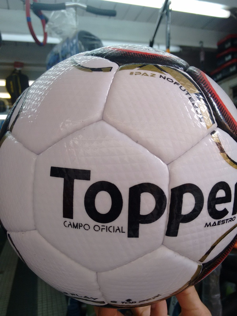 bola de futebol de campo oficial maestro topper - serie b. Carregando zoom. c82422aac818e