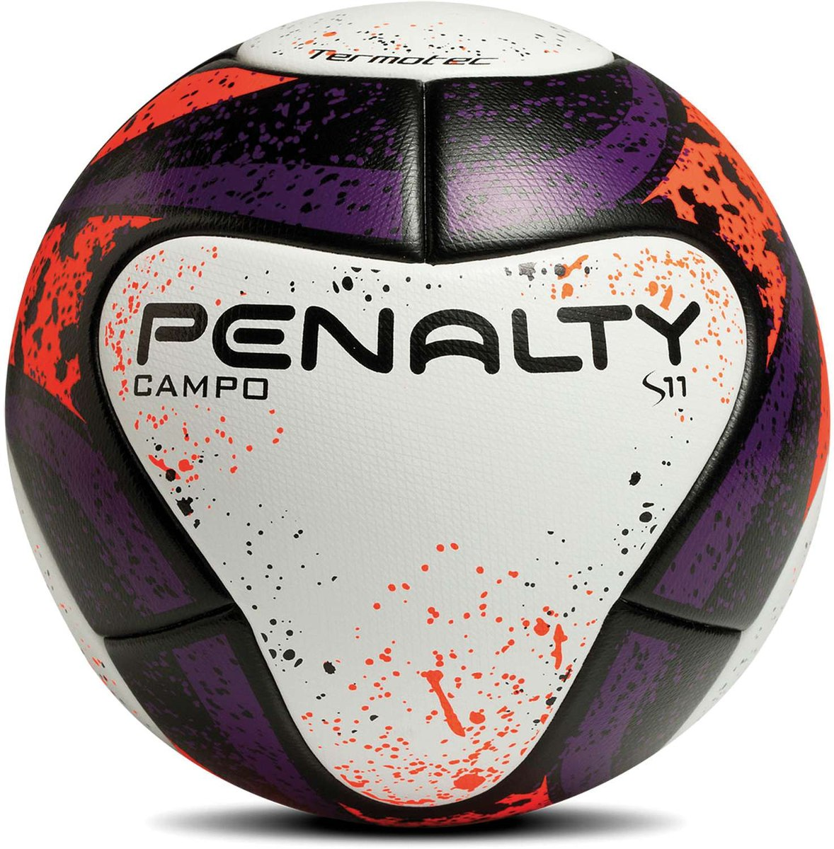 993bf3e04fb20 Bola De Futebol De Campo S11 R2 Fpf Termotec Bc-rs-az Un - R  283