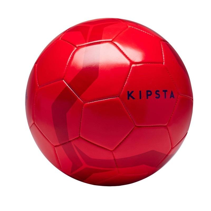2d6d6748db0f3 bola de futebol de campo tamanho 5 vermelha kit com 5 bolas. Carregando  zoom.