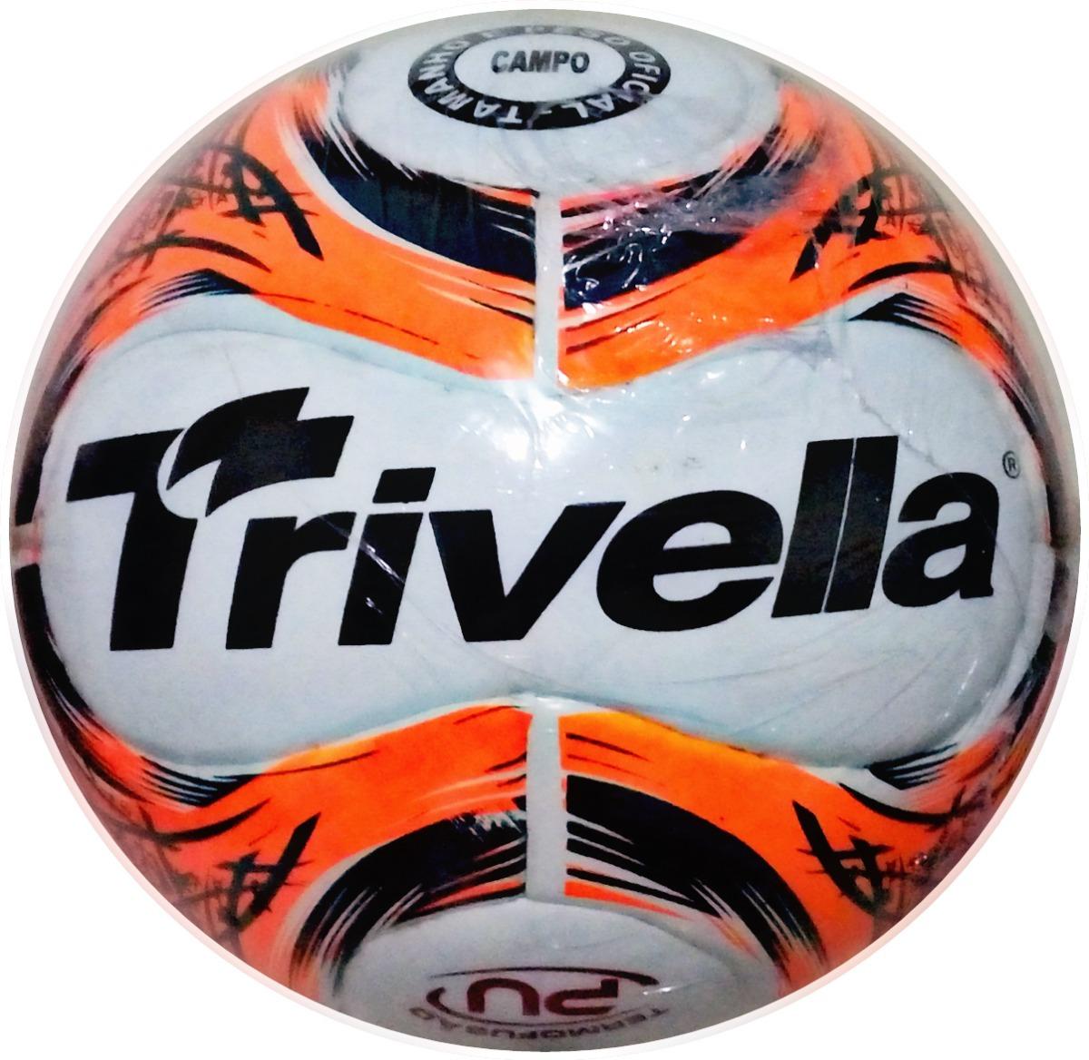 d211ef668 bola de futebol de campo trivella original - brasil gold. Carregando zoom.