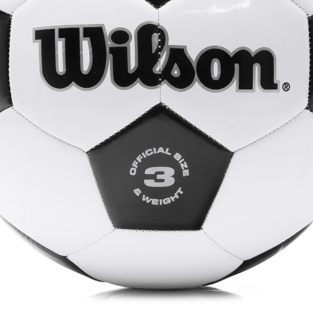30dd93aa5 bola de futebol de campo wilson traditional branca e preta. Carregando zoom.